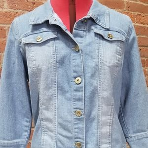 Bandolino denim jean jacket